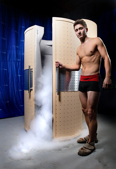 The Whole Body Cryotherapy for sportmen